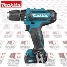 Máy khoan bắt vít dùng Pin Makita DF331DSAE ( 12V/2.0Ah)