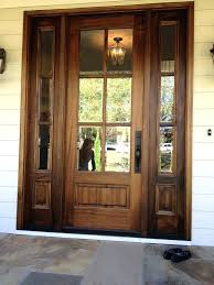 wood front door with glass creative of wooden front doors with glass best ideas about glass wood front door with glass