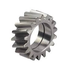 The image 1 is a normal helical gear ,while img 2 is a herringbone gear or a  double helical gear