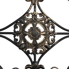 Get better time with your family by drinking tea at morning also seems as a great moment that can be done in patio. Large Tuscan Wrought Iron Metal Wall Decor Rustic Antique Garden Indoor Outdoor Ebay