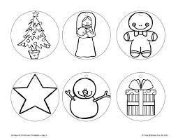 christmas ornament coloring pictures. Unique Christmas 24 Days Of Christmas Printables Day 4  Color Your Own Printable  Ornaments Throughout Ornament Coloring Pictures R