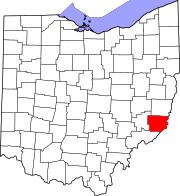 monroe county, ohio wikipedia Monroe County Ohio Road Map map of ohio highlighting monroe county road map of monroe county ohio