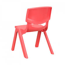 red school chair. Contemporary Red Red Plastic Stackable School Chair  To 4