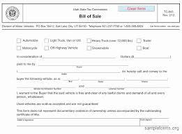 Dmv Printable Bill Of Sale Dmv Bill Of Sale Utah Best Of Automobile Bill Sale Luxury Sample