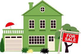 House for sale clip art
