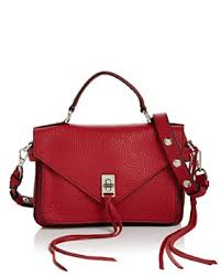 Rebecca Minkoff - Small Darren Leather Messenger ...
