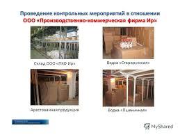 Презентация на тему МРУ Росалкогольрегулирования по Уральскому  7 Проведение контрольных мероприятий