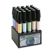 Chartpak Ad Marker Set Of 25 Pastel Colors