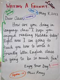 how to write ms writing a friendly letter lessons tes teach