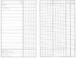 Attendance Tracker Spreadsheet Class Record Template Excel