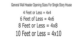 4 by 6 photo size window and door header sizes structural engineering and home