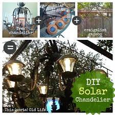 this sorta old life solar chandelier gazebo led lights