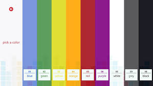 Windows 10 Color Scheme Color Palette Pro For Windows 8 And 8 1
