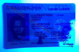 Id-chief Washington Cards Fake Id Maker Scannable