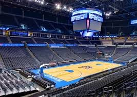 Chesapeake Arena Seating Chart With Rows Inquisitive Okc Thunder Seating Chart Rows 2019