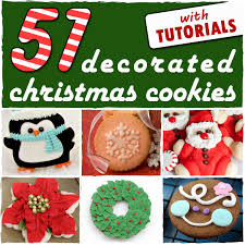 decorated round christmas sugar cookies.  Decorated Throughout Decorated Round Christmas Sugar Cookies E