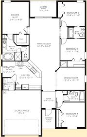 Tangerly Oak New Home Plan  Vero Beach FL  DiVosta Home Florida Home Builders Floor Plans