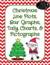 Christmas Chart Images Christmas Line Plots Tally Chart Bar Graphs Pictographs