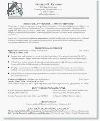 Child Care Administrator Resume Fresh Child Care Resume Sample Beauteous Child Care Resume Sample