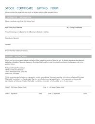 Share Certificate Template Ontario