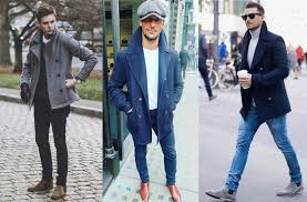 what makes pea coats so stylish is that they are masculine after all these coats were originally worn by european and later american navies