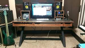 audio studio desk audio studio desk plans kk audio studio desk