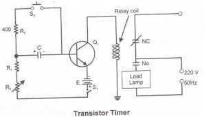 transistor timer circuit diagram function transistor timer circuit diagram