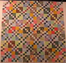 35 best Nine patch quilts images on Pinterest | Antique quilts ... & Double Four Patch quilt, set together in nine-patches. Adamdwight.com