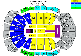 Seating Chart Target Center Garth Brooks 29 Clean Keybank Center Seating Chart Seat Numbers
