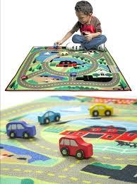 car rug play car rug kids carpet floor mat children crawling area city road toys ikea