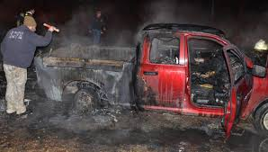 Fire Destroys Pickup Truck, Camper On Jacks Branch : NorthEscambia.com