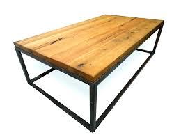 coffee table industrial wood coffee table reclaimed table reclaimed oak coffee table with walnut