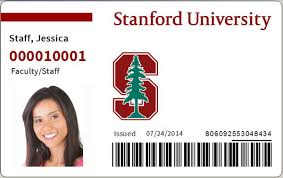 Stanford Look Get Cards Id New