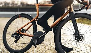 edition copper plated 3d printed bike
