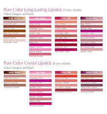 Estee Lauder Lipstick Shade Chart Random Beauty By Hollie Estee Lauder Pure Color Long