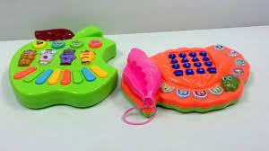Khui hộp đồ chơi 2 trong 1 phù hợp cho bé từ 1 tới 3 tuổi , đồ chơi pin -  YouTube