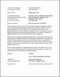 Business Letter Format With Re Line Cover Letter Templates