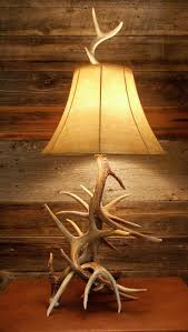 This multi-antler lamp consists of spiraling Whitetail deer antlers -- a  true Montana