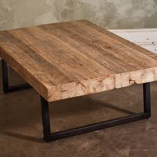 timber slab coffee table and bench