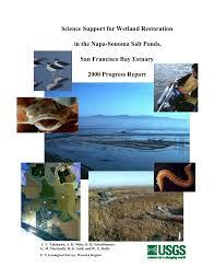 pdf science support for wetland restoration in the napa sonoma salt ponds san francisco bay estuary 2000 progress report