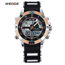 online buy whole mens sport watches waterproof from mens 2016 hot weide luxury brand mens sports watches 3atm waterproof multifunction quartz digital led backlight