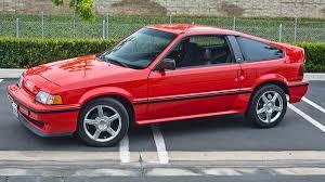 1987 Honda Crx Si Specs