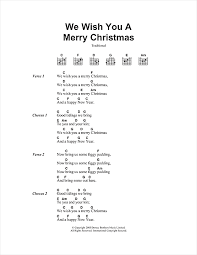 We Wish You A Merry Christmas sheet music by Christmas Carol ...