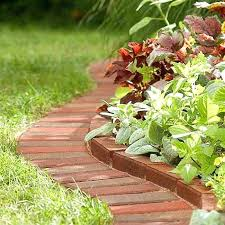 vegetable garden border ideas garden edging realized with bricks raised vegetable garden border ideas