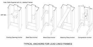 metal door jamb. Lead Lined Hollow Metal Frames Door Jamb