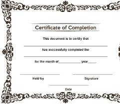 how to make a certificate of completion 3 ways to make a certificate wikihow