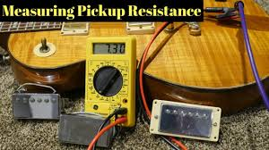 How To Test Resistance Of Pickups Both Inside And Out Of An Electric Guitar