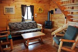 small cabin furniture. cedar log furnishings in our cabins at branches of niagara campground serving southern ontario and small cabin furniture