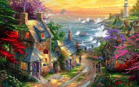 Disney Wallpaper Thomas Kinkade (#57852 ...