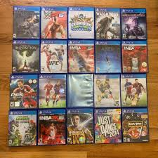 20 PS4 Games Bundle Lot